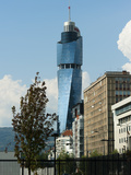 Avaz Twist Tower  Headquarters of the Newspaper Dnevni Avaz  Sarajevo  Bosnia and Herzegovina  Euro