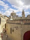 Mdina  the Fortress City  Malta  Europe