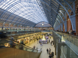 St Pancras Station  London  England  United Kingdom  Europe