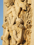 The Triumph by Antoine Etex  Dating from 1810  Sculpture on the Arc De Triomphe  Paris  France  Eur