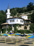 The Quiet Nest Villa with Minaret  the Palace of Queen Marie  Balchik  Black Sea Coast  Bulgaria  E