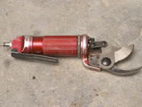 Pneumatic Compressed Air Driven Secateur Shears for Pruning Vines  Chateau Belingard  Bergerac