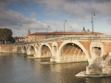 Pont Neuf Bridge  Toulouse  Haute-Garonne Department  Midi-Pyrenees Region  France