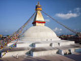 Bodhnath Stupa (Boudhanth) (Boudha)  One of the Holiest Buddhist Sites in Kathmandu  UNESCO World H