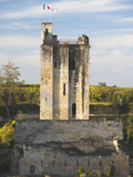 Chateau Du Roy Tower  Wine Town  St-Emilion  Gironde Department  Aquitaine Region  France