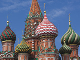 Saint Basils Cathedral  Red Square  Moscow  Moscow Oblast  Russia