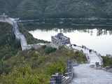 Jintang Lake Beside the Great Wall of China  UNESCO World Heritage Site  Huanghuacheng (Yellow Flow