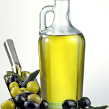 Salad Oil with Green and Black Olives