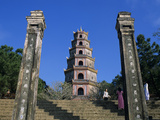 Thien Mu Pagoda (Buddhist Pagoda of the Heavenly Lady) (Celestial Lady Pagoda)  UNESCO World Herita