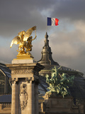 Detail of the Pont Alexandre Iii Bridge  Paris  France