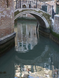 Canal and Reflection  Venice  Italy