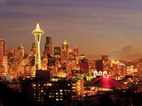 New Year's Day in Seattle  Washington  Usa