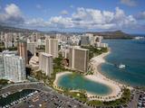 Waikiki  Honolulu  Oahu  Hawaii  Usa