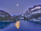 Full Moon over Perfection Lake  Enchantment Lakes  Alpine Lakes Wilderness  Washington  Usa