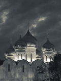 Evening  Uspenski Cathedral  Yaroslavl  Golden Ring  Yaroslavl Oblast  Russia