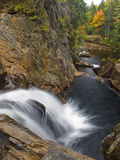 Smalls Falls Near Rangeley  Maine  Usa