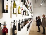 Wine Art Exhibit  Sfmoma  San Francisco Museum of Modern Art  Soma  San Francisco  California  Usa
