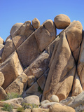 Granite Rock Formations  Joshua Tree National Park  California  Usa