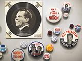 Nixon Memorabilia  Richard Nixon Presidential Library and Birthplace  Yorba Linda  California  Usa