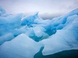 Iceberg Snow Storm  Monacobreen Glacier  Liefdefjorden Fjord  Spitsbergen Island  Svalbard  Norway