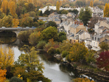 Elevated View of Town  Poitiers  Vienne Department  Poitou-Charentes Region  France