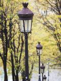 Autumn  Rue De Foyatier Steps to the Place Du Sacre Coeur  Montmartre  Paris  France