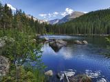 Hdr  Digital Composite  Bear Lake  Rocky Mountain National Park  Colorado  Usa