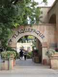 Tlaquepaque Outdoor Mall  Sedona  Arizona  Usa
