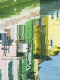 Canal Reflections  Burano  Venice  Italy