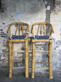 Old Styled Bamboo Chairs  Xitang  Zhejiang  China