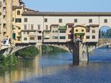Ponte Vecchio at Sunrise  Florence  Tuscany  Italy