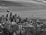 New Year's Day in Seattle  Washington  Usa