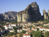 Town of Meteora  Greece