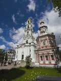 Cathedral of the Assumption  Trinity Monastery of Saint Sergius  Moscow Oblast  Russia