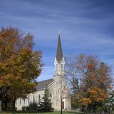 Saint Patrick's Catholic Church Founded 1840  Garryowen  Jackson County  Iowa  Usa