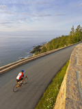 Road Bicycling in Acadia National Park  Maine  Usa