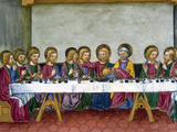 The Last Supper  Jesus  Codex of Predis (1476)  Royal Library  Turin  Italy