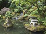 Japanese Garden  Portland  Oregon  Usa