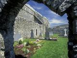 Corcomroe Abbey  Burren Area  County Clare  Ireland