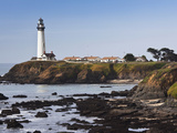 Pigeon Point Lighthouse Station State Historic Park  Pigeon Point  Central Coast  California  Usa
