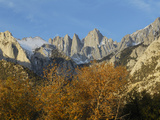 Inyo National Forest  Mount Whitney  California  Usa