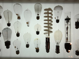 Old Light Bulbs  Dibner Hall  History of Science  Huntington Library  Pasadena  California  Usa