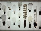 Old Light Bulbs  Dibner Hall  History of Science  Huntington Library  Pasadena  California  Usa