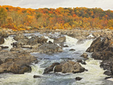 Great Falls  Great Falls National Park  Potomac River  Maryland  Usa