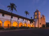 Mission Santa Barbara  Santa Barbara  Southern California  California  Usa