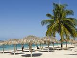 Beach Scene  Playa Ancon  Trinidad  Cuba