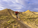 Landon Monholland Mountain Bikes on the Zippy Doo Dah Trail in Fruita  Colorado  Usa
