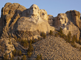 Mount Rushmore National Monument at Sunrise  South Dakota  Usa