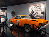 Dodge Charger from the Dukes of Hazzard  Petersen Automotive Museum  Los Angeles  California  Usa