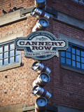 Cannery Row  Monterey  Central Coast  California  Usa